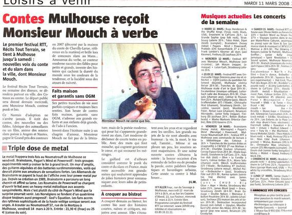 Mr Mouch aux Copains d'Abord