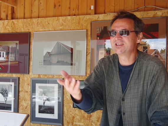Künstler Gerhard Schmidbauer, Reliefschnittgrafiker