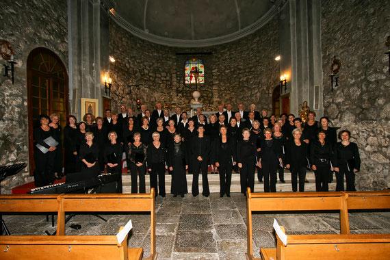 23 octobre 2011 en l'église Saint Roch de Peymeinade