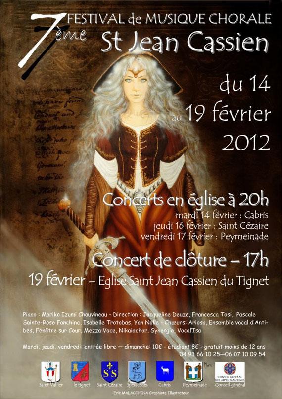 affiche St Cassien 2012