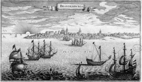 1652 г Brandenburg рис. Мериам