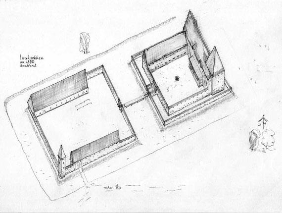 Реконструкция А.П. Бахтина