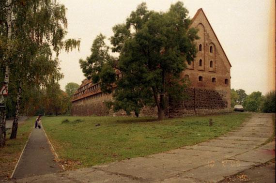 Pr.Eylau  Сохранившееся здание форбурга.
