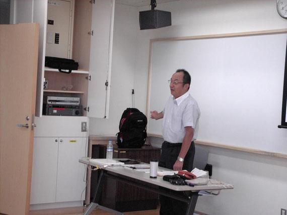 「ESD成増小学校の学校・地域の連携」    板橋区立成増小学校  校長 清水哲也氏
