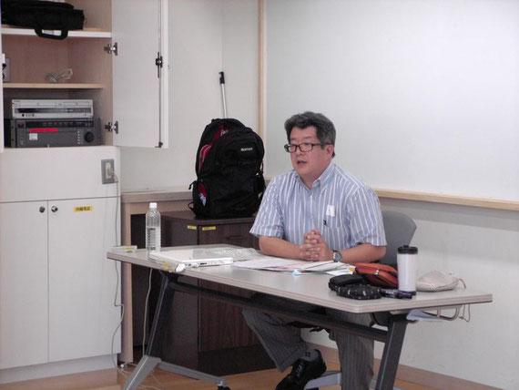 「多摩市教育委員会の取り組み」   多摩市教育委員会 参事 千葉正法氏