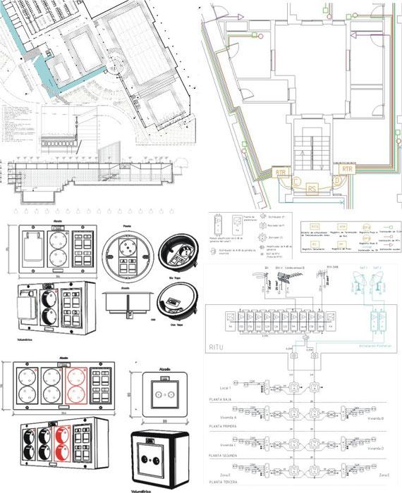 Delineación Planos Arquitectura, Electricidad, Telecomunicaciones, Mecánica