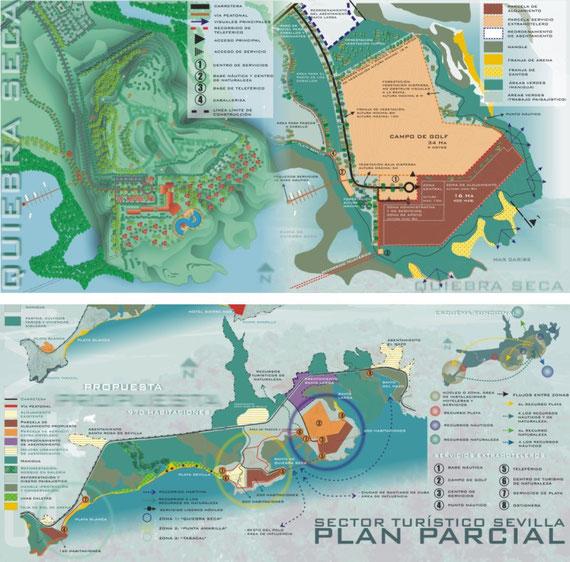 Delineación Planes Generales, Parciales, Urbanismo