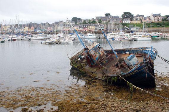 Bretagne, Schiffsfriedhof bei Camaret-sur-Mer