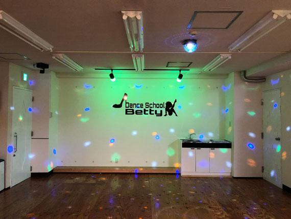 仙台ダンススクールBETTY  スタジオ 写真