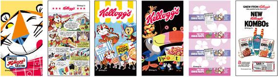 Kellogg's Vol.2 は6パターンあります