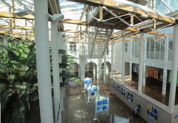 La verrière du Lycée François 1er où se tiendra l'exposition