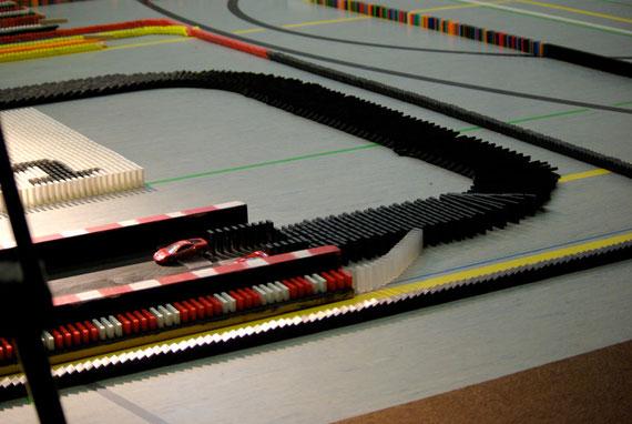 Der Rennbahn-Effekt bei CDT 2009