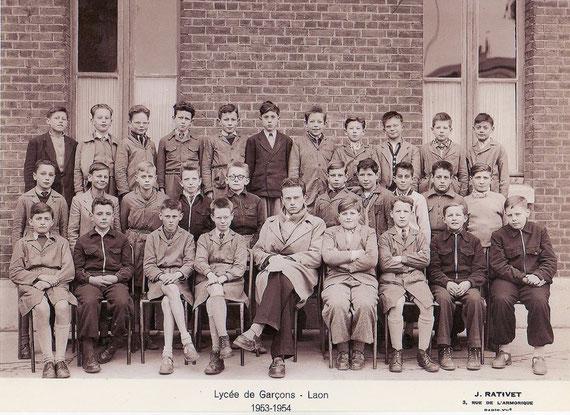 photo de classe Laon 1954  6M2