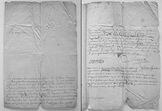 AUT.18.001 Denunziation der Kamisarden durch Neubekehrte / © Sammlung PRISARD