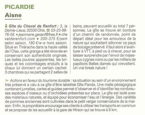guide routard tourisme durable 2010