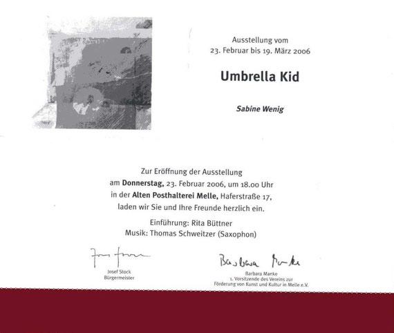 Einladung zu Umbrella Kid