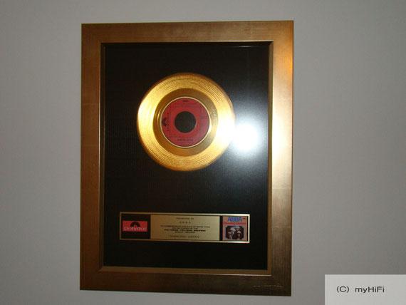 Goldene Schallplatte ABBA - Dancing Queen