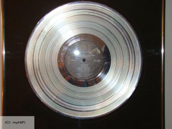 Platin Schallplatte KEN KRAGEN als Manager