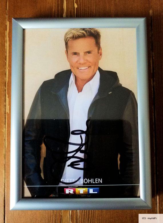 Autogramm von  Herrn Dieter Bohlen