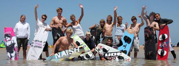 Nicole, Kai, Phillipp, Rick, Katrin, Niklas, Verena, Tobi, Stefan, Annika, Marius, Christian, Dennis, (Steffen)