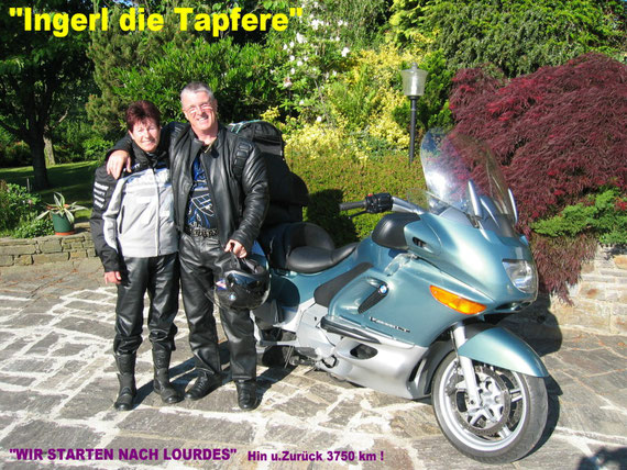 Was für ein Glück!-9 Tage nur Sonnenschein!!! Die Abfahrt! - bei uns Zuhause in Steinreib! 27.Mai 2005