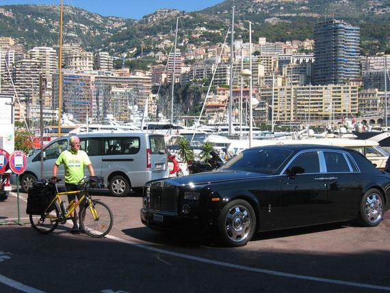 auf der 8.Etappe 26.Juli 2011 in Monte Carlo (Foto-Privat-Archiv)