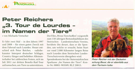 """""""Panorama""""- Süd-Weststeirisches Magazin für Deutschlandsberg,Leibnitz & Voitsberg -Juni 2010"""