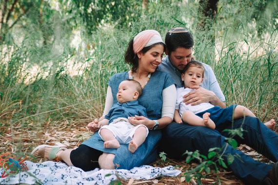 התמונה הראשונה היא ביחד | צילום משפחתי