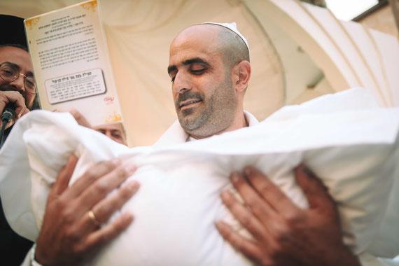 תחילתו של הטקס | צילומי ברית מילה בבל מר אירועים
