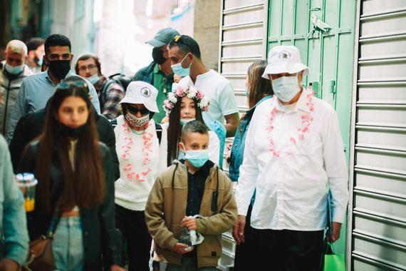 סיור ברובע מוסלמי | בת מצווה בכותל