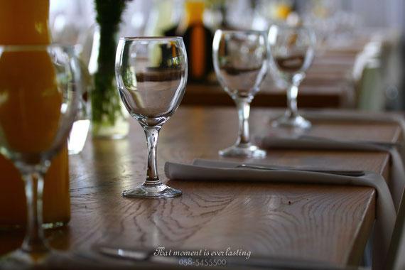 סידור הסכו''ם בשולחן | אירוע ברית ביתי