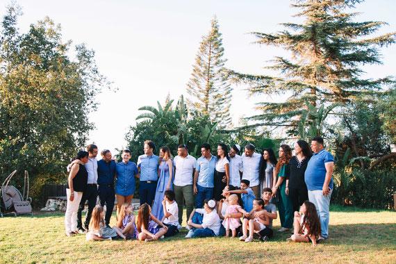 צילומי המשפחה המורחבת