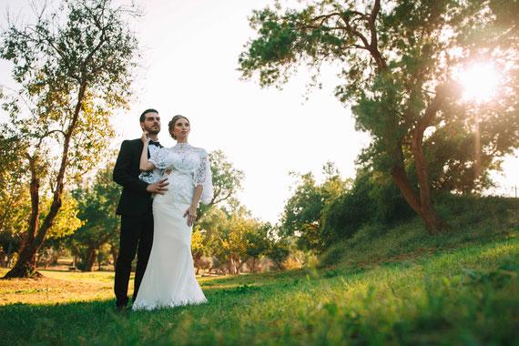 צילומי חוץ בחתונה