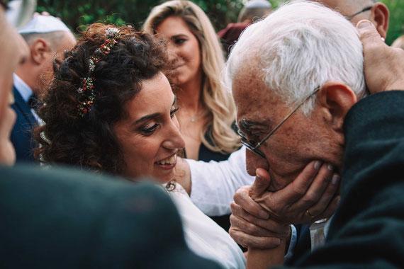 סבא מברך הכלה - מרגש
