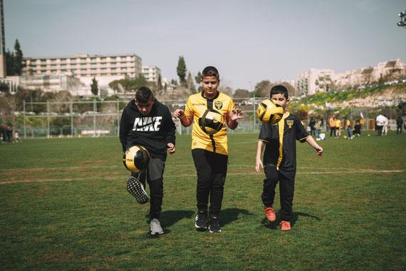 בוק בר מצווה כדורגל עם ביתר ירושלים