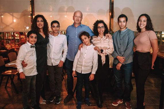צילומי משפחה - בר מצווה באתניקה הרצליה