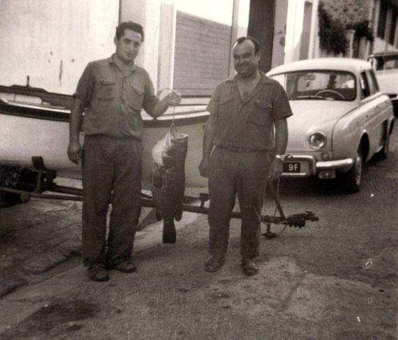Doc. Colette Bonniol - Mr Pastor à droite et Franco