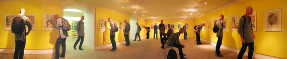Savador Dali Ausstellung/II im Egon Schiele Centrum/Cesky Krumlov, 2003