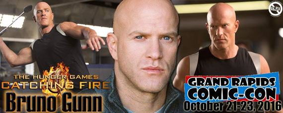 10/21-10/23/16 - Grand Rapids, MI. - Grand Rapids Comic Con with Bruno Gunn.