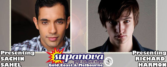 4/9-4/17/16 - Gold Coast & Melbourne, Australia - Supanova with Sachin Sahel and Richard Harmon.