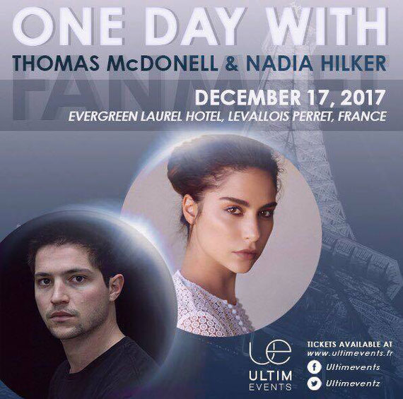 12/17/17 - Paris, France - One Day in Paris - With Nadia Hilker.