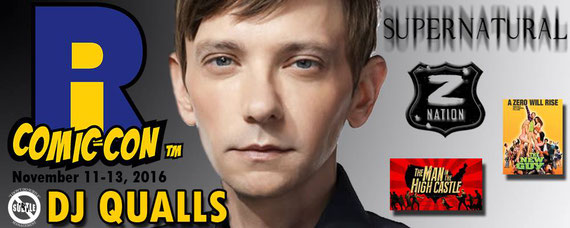 11/11-11/13/16 - Providence, R.I. - Rhode Island Comic Con with DJ Qualls, Mehcad Brooks.