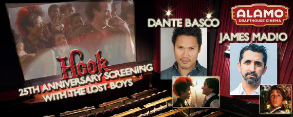 7/22-7/24/16 - Houston, Lubbock, El Paso. - Hook 25th Anniversary Tour with Dante Basco, James Madio.