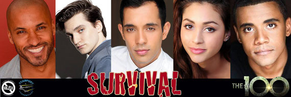 "3/11-3/13/16 - Heathrow, U.K. - Starfury's ""Survival"" 100 Convention with Ricky Whittle, Richard Harmon, Sachin Sahel, Lindsey Morgan, Jarod Joseph."