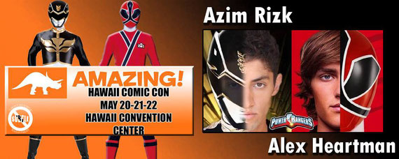 5/20-5/22/16 - Honolulu, HI. - Amazing Hawaii Comic Con with Alex Heartman, Azim Rizk.