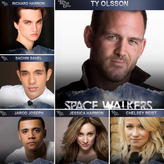 "4/30-5/1/16 - Paris, France - ""Space Walkers"" 100 Convention. with Richard Harmon, Sachin Sahel, Jarod Joseph, Chelsey Reist, Jessica Harmon, Ty Olsson."