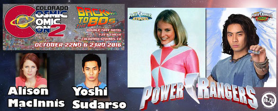 10/22-10/23/16 - Colorado Springs, CO. - Colorado Cosmic Comic Con 2 with Alison MacInnis, Yoshi Sudarso, Steven Skyler.