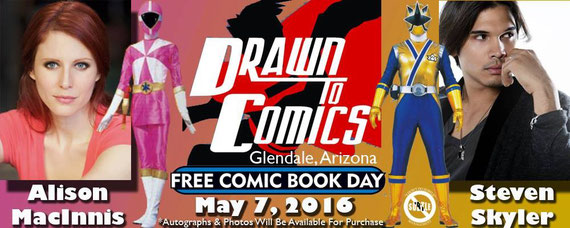 5/7/16 - Glendale, Arizona - Drawn to Comics with Alison MacInnis, Steven Skyler.