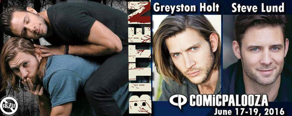 6/17-6/19/16 - Houston, TX. - Comicpalooza with Greyston Holt, Steve Lund.