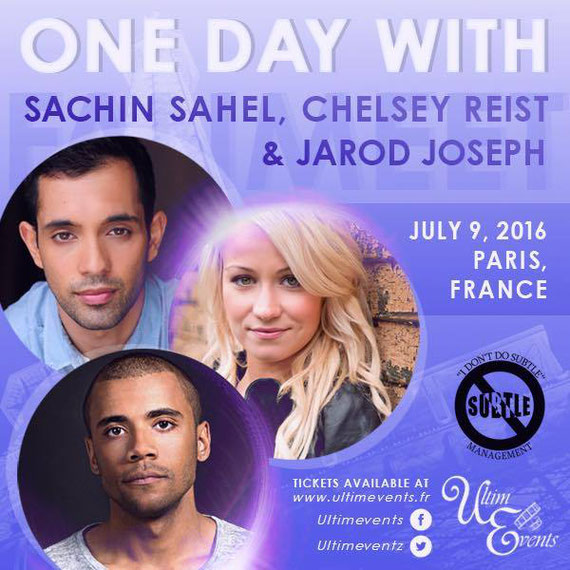 7/9/16 - Paris, France- One Day with Jarod Joseph, Chelsey Reist, Sachin Sahel.